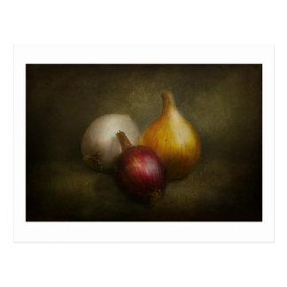 Nahrung - Zwiebeln - Zwiebeln Postkarte