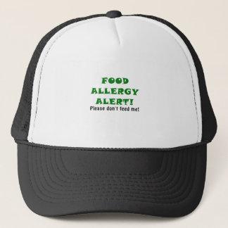 Nahrungsmittelallergie-Alarm bitte füttern mich Truckerkappe