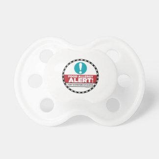Nahrungsmittelallergie-Alarm-Schnuller Schnuller
