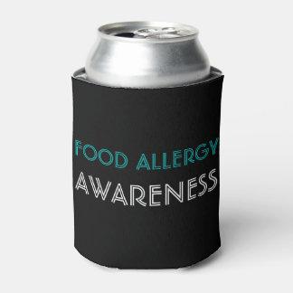 Nahrungsmittelallergie-Bewusstseins-aquamarines Dosenkühler