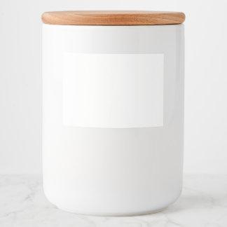 Nahrungsmittelbehälter-Aufkleber Lebensmitteletikett