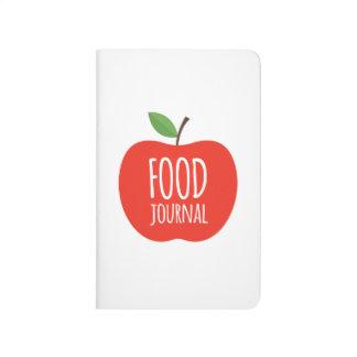 Nahrungsmittelzeitschrift Taschennotizbuch