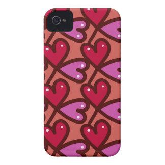 Nahtlose Herzen #2 iPhone 4 Hülle