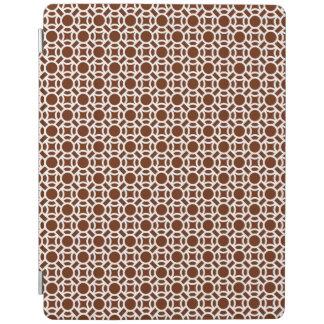 Nahtlose weiße Hintergrund-Farbe des Muster-DIY iPad Hülle
