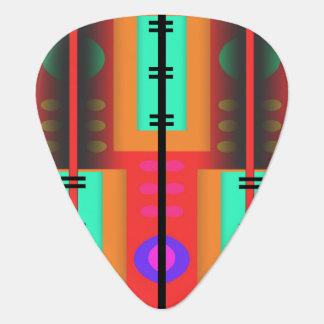 Nahtloses abstraktes Muster Plektrum
