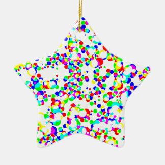 nahtloses Halbtonmuster Keramik Stern-Ornament