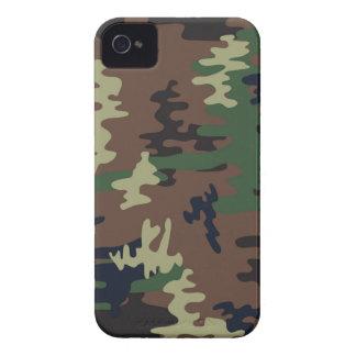 Nahtloses Muster der bunten Tarnung iPhone 4 Cover