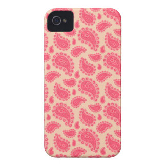 Nahtloses Paisley mit Blume iPhone 4 Cover