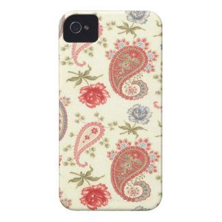 Nahtloses Paisley mit Blume v2 iPhone 4 Case-Mate Hüllen