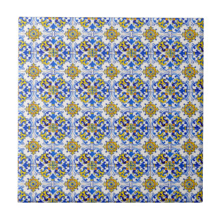 Nahtloses traditionelles Portugiese Azulejo Muster Fliese