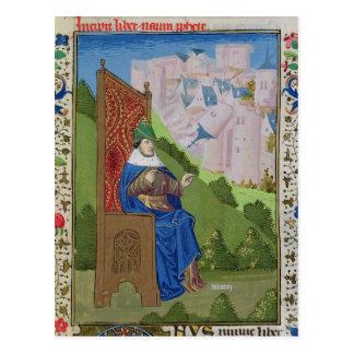 Nahum, welches die Zerstörung von Ninive ankündigt Postkarte