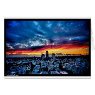 Naik Michel Fotografie - Sonnenuntergang über Karte