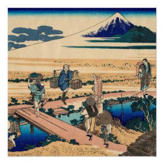 Nakahara in Sagami Provinz Poster