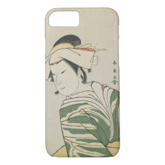 Nakamura Noshio II als Tonase, 1795 iPhone 8/7 Hülle