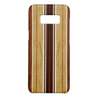 Nalu Hou Imitat Koa Holz-Surfbrett Case-Mate Samsung Galaxy S8 Hülle