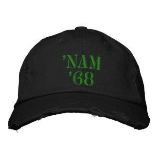'NAM '68 BESTICKTE BASEBALLKAPPE