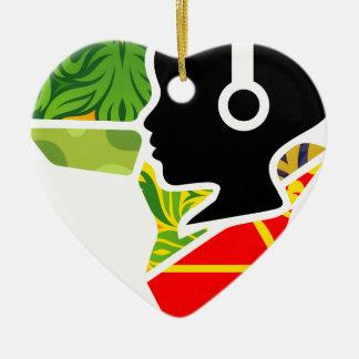 Nam-Radio Kleidung für Leute, die mehr wollen Keramik Herz-Ornament