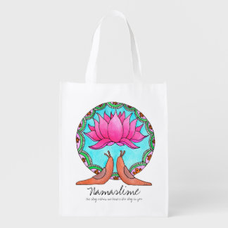 Namaslime wiederverwendbare Tasche Wiederverwendbare Einkaufstasche
