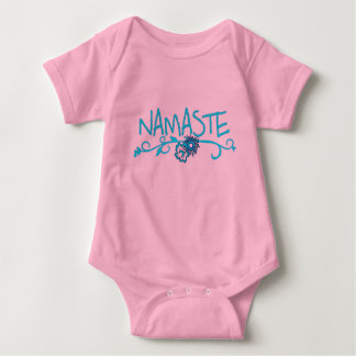 Namaste - Baby-Yoga-Kleidung Baby Strampler