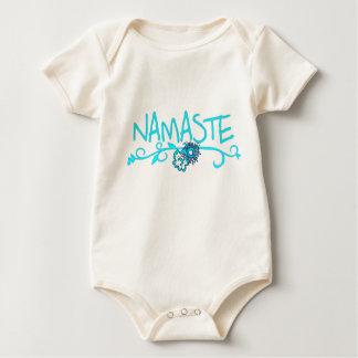 Namaste - Baby-Yoga-Kleidung (Bio) Baby Strampler