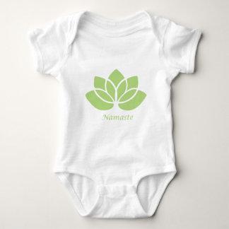 Namaste Lotus Baby Strampler
