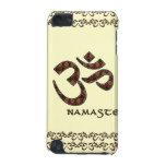 Namaste mit OM-Symbol Brown und Creme
