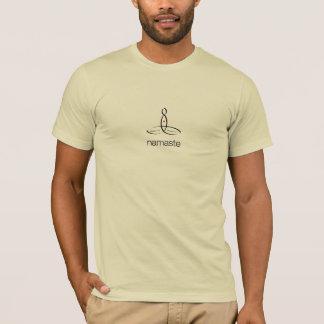 Namaste - schwarze regelmäßige Art T-Shirt