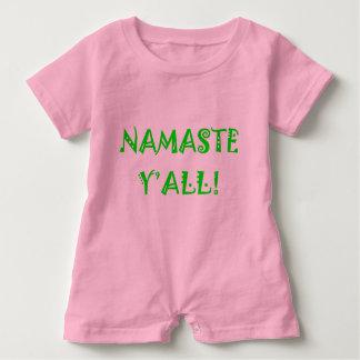 Namaste Sie - Baby-Yoga-Kleidung Baby Strampler
