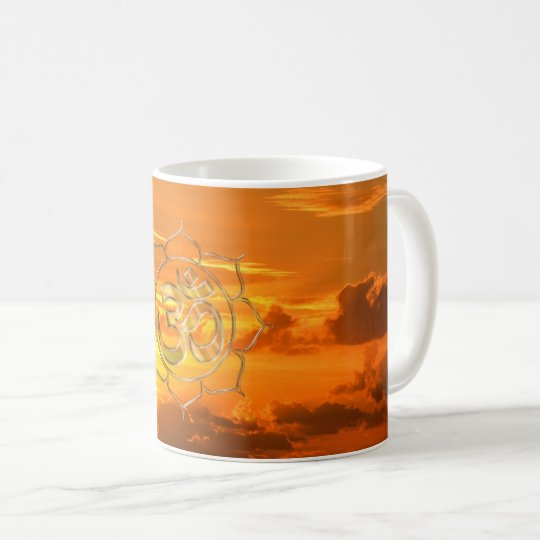 Namasté Sonnenaufgang Kaffeetasse