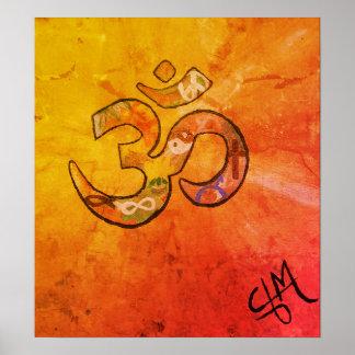 Namaste Sonnenaufgang Poster
