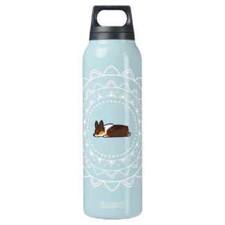Namaste Tricolor Pembroke Sploot heiß+Kalte Isolierte Flasche