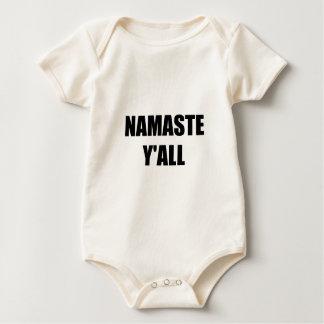 Namaste Yall Baby Strampler