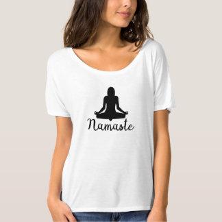 Namaste Yoga-Spitze T-Shirt