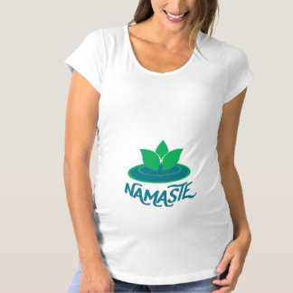 Namaste Yogamutterschaftsmeditation T - Shirt