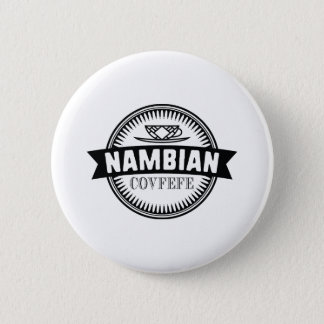 Nambian Covfefe Runder Button 5,1 Cm
