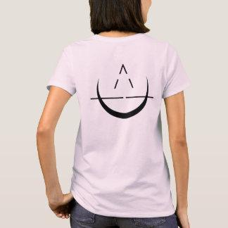 Name das ELOSIN der Frauen mit Mond-Symbol-Rosa-T T-Shirt
