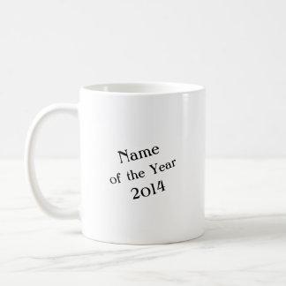 Name des Jahres Tasse