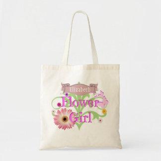 Name-Gänseblümchen-Blumen-Mädchen Tragetasche