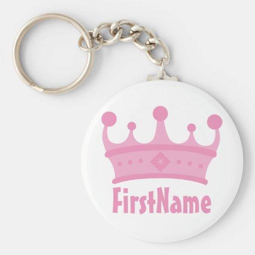 Name-Krone Schlüsselband