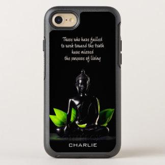Name-Telefon-Hüllen Buddha-Zitats 1 OtterBox Symmetry iPhone 8/7 Hülle