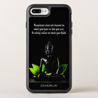 Name-Telefon-Hüllen Buddha-Zitats 4 OtterBox Symmetry iPhone 8 Plus/7 Plus Hülle
