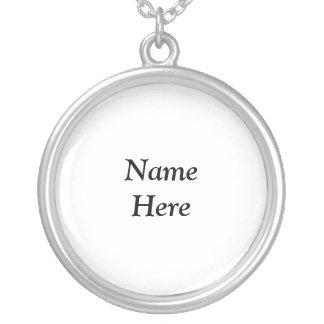 Namen-hier Halskette