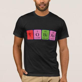 Namen-Shirt periodischer Tabelle Tobias T-Shirt