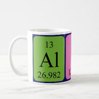 Namen-Tasse periodischer Tabelle Alices Tasse