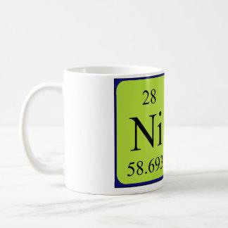 Namen-Tasse periodischer Tabelle Nina Kaffeetasse
