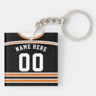 Namen-u. Zahl-Hockey-Jersey-Schlüsselring, Schlüsselanhänger