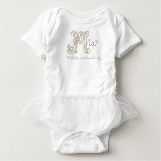 Namen- und Bedeutungsgewohnheit Mia Babys M Baby Strampler