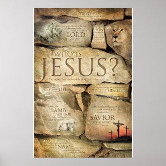 NAMEN VON JESUS CHRISTUS - christliche Poster