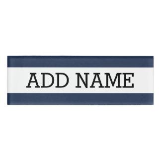 NAMENSCHILD