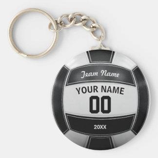 Namensdas jahr-Team des Volleyball-Spielers Standard Runder Schlüsselanhänger